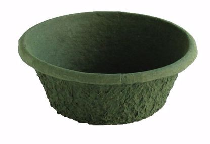 "Picture of 10"" x 4"" Paper Mache Mega Pot - Green"