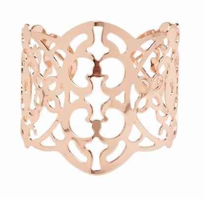 Picture of Atlantic Rose Gold Filigree Cuff