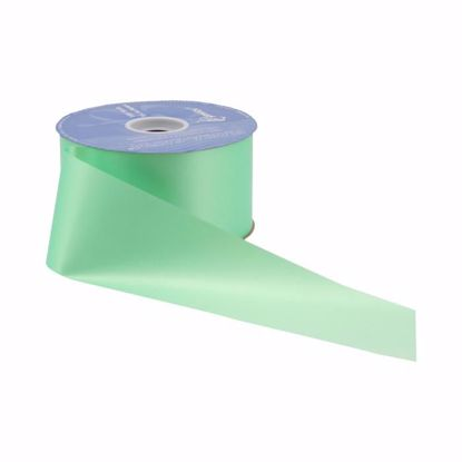 Picture of #40 Waterproof Poly Flora-Satin Ribbon - Mint