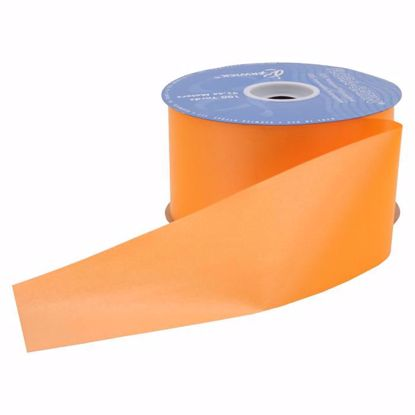 Picture of #9 Waterproof Poly Flora-Satin Ribbon - Tropical Orange