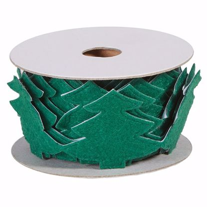 Picture of Oasis Felt Adhesive Wrap - Green Tree