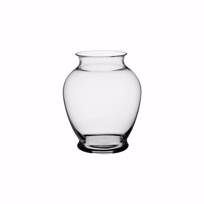 """Picture of Syndicate Sales 6.25"""" Glass Ginger Vase - Clear"""
