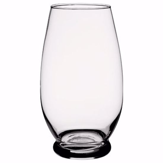 """Picture of Syndicate Sales 10.625"""" Glass Celebrity Vase - Clear"""
