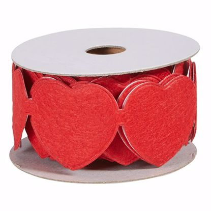 Picture of Oasis Felt Adhesive Wrap - Red Heart