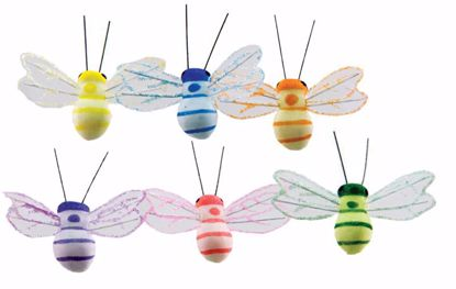 """Picture of 9.5"""" Bugs on Wire Pick (6 Assorted)"""