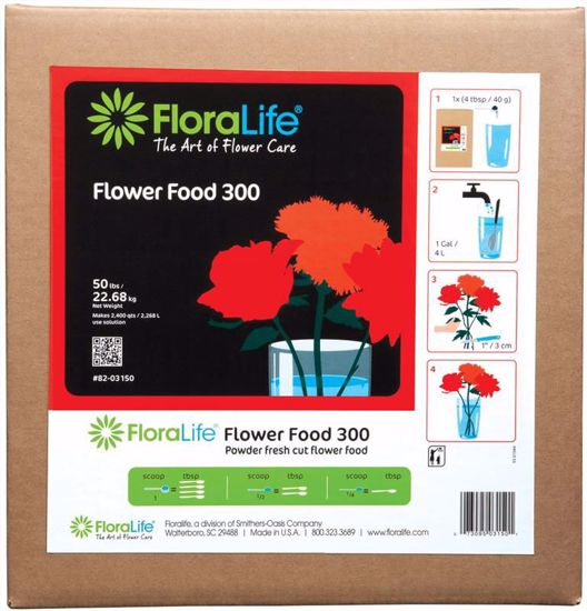 Picture of Floralife Flower Food 300 Powder - 50 lb. Box