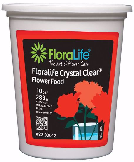 Picture of Floralife Crystal Clear Flower Food 300 Powder - 10 oz. Tub