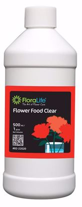 Picture of Floralife Crystal Clear Flower Food 300 Liquid - 1 Pint Bottle