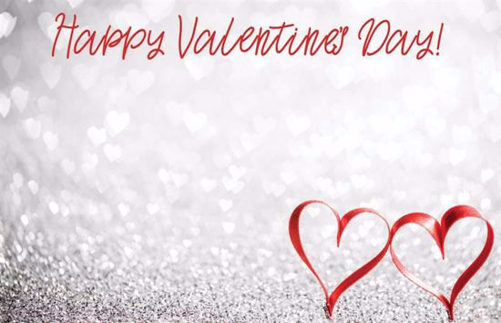 Picture of Happy Valentine's Day Enclosure Card (PACK 50)