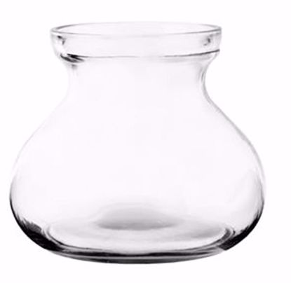 """Picture of Syndicate Sales 5"""" Rosie Posie Glass Vase - Clear"""