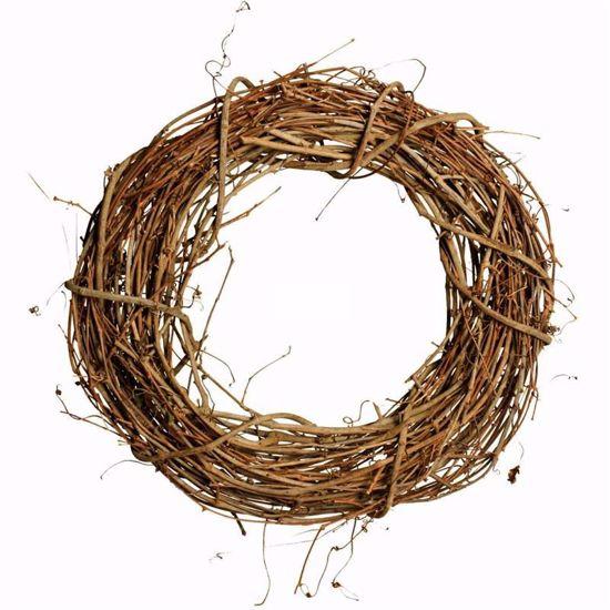 """Picture of 20"""" Grapevine Wreath"""