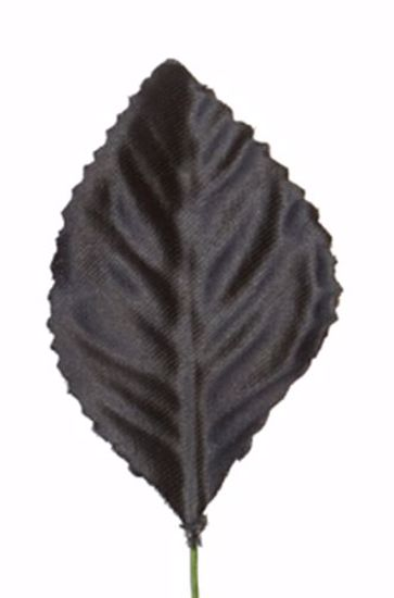 "Picture of 2.25""  Corsage Leaves - Black"