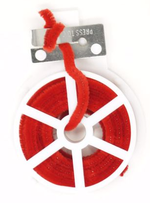 Picture of Spool Chenille Stem w/Cutter - Red