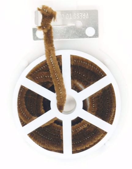 Picture of Spool Chenille Stem w/Cutter - Brown