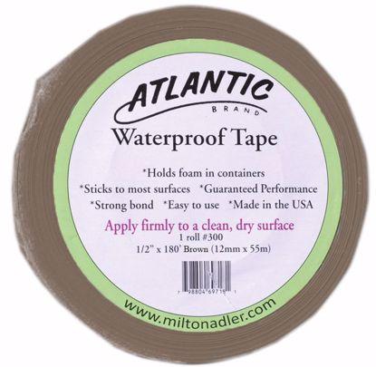 """Picture of 1/2"""" Atlantic Waterproof Tape - Brown"""