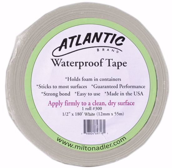 """Picture of 1/2"""" Atlantic Waterproof Tape - White"""