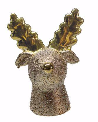 Picture of Ceramic Reindeer Head Statue