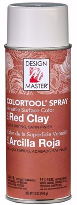 Picture of Design Master Colortool Spray/ Red Clay