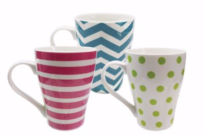 Picture of 3 Assorted Ceramic Mugs