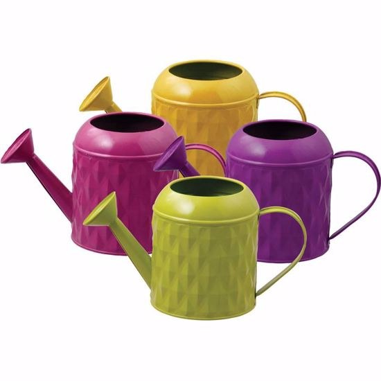 Picture of 4 Asst Metal Watering Can