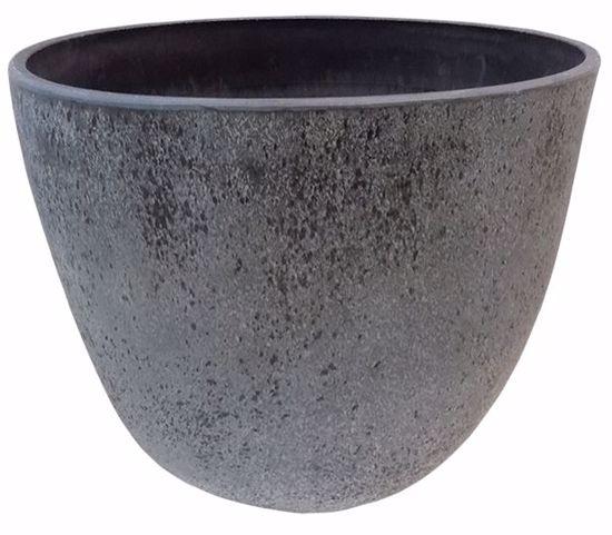 Picture of CeraMix Nova Pot - Concrete 9 Gal.