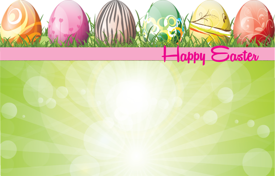 Picture of Happy Easter Enclosure Card (PACK 50)