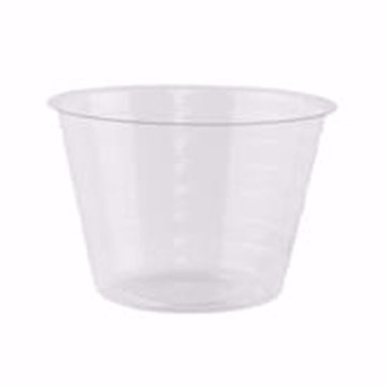 """Picture of 4"""" Round Hard Plastic Liner"""
