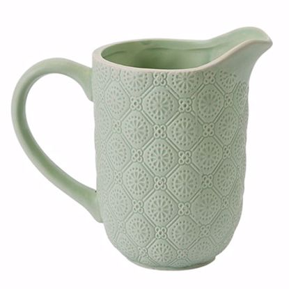 Picture of Mint Ceramic Pitcher Planter