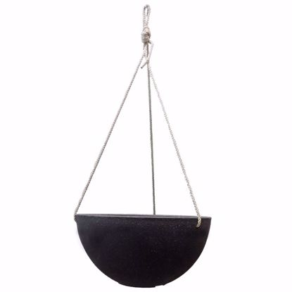 Picture of CeraMix Nova Hanging Pot - Blackwash