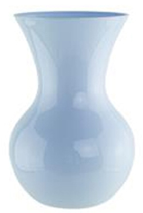 "Picture of 7"" Sweetheart Vase-Seaside Blue by Syndicate Sales"