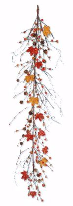 """Picture of Autumn Leaves Maple Garland (60"""")"""