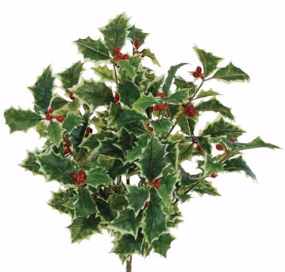 """Picture of Holly Bush-Real Touch with berries (16"""")"""