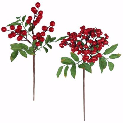 """Picture of 14"""" Mixed Berry Stem - 2 Assorted"""