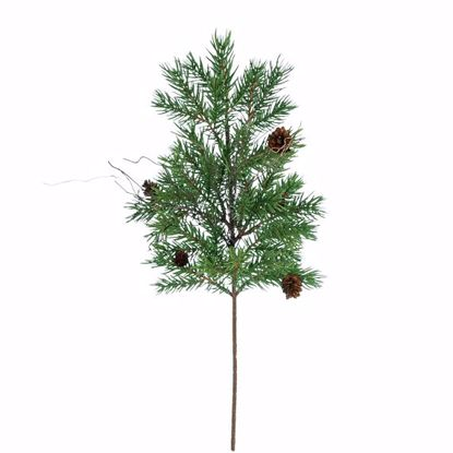 "Picture of 18"" Plastic Pine Twig Spray"