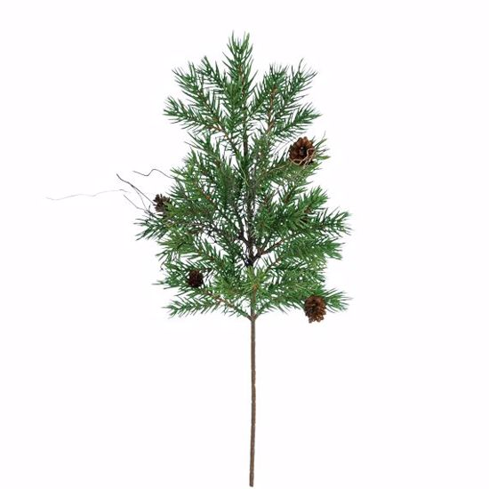 """Picture of 18"""" Plastic Pine Twig Spray"""