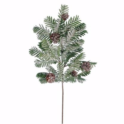 """Picture of Evergreen Spray-Frosty Pine (Plastic, 19"""")"""