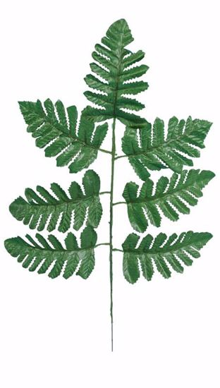 """Picture of Leather Fern Spray (17"""")"""