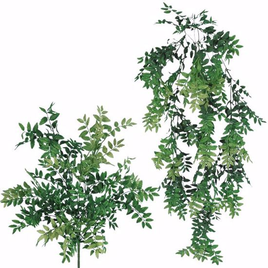 """Picture of 34"""" Plastic Mixed Honey Bush x 5-9 (2 Assorted)"""