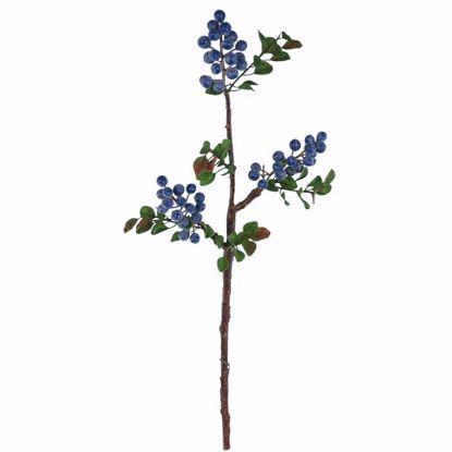 """Picture of 20"""" Plastic Berry Mini Branch"""