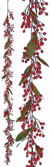 Picture of 6' Plastic Berry Garland
