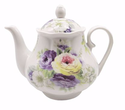 Picture of Multifloral Porcelain Teapot