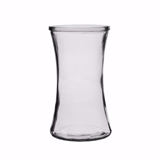 """Picture of Syndicate Sales  8"""" Gathering Vase - Clear"""