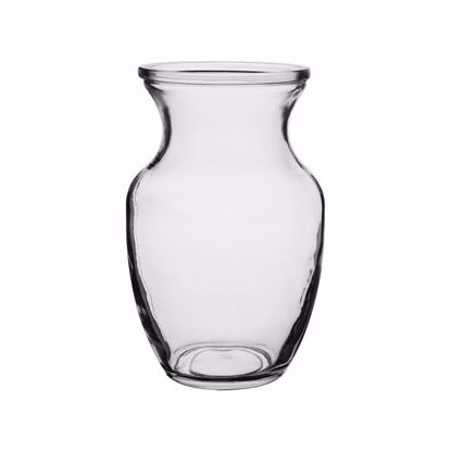 """Picture of Syndicate Sales  8"""" Rose Vase - Clear"""