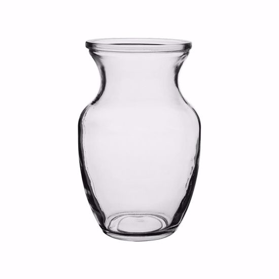 "Picture of Syndicate Sales  8"" Rose Vase - Clear"