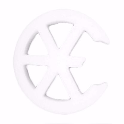 Picture of Floracraft Styrofoam Broken Wheel Emblem