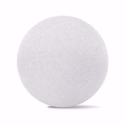 "Picture of White Styrofoam™ Ball - 4"" (12pc/bag)"