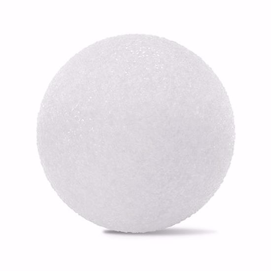 "Picture of White Styrofoam™ Ball - 5"" (6pc/bag)"