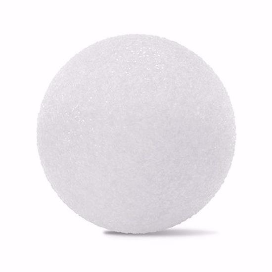 "Picture of White Styrofoam™ Ball - 5"" (6pc/bag)"