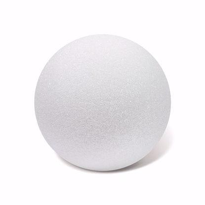 "Picture of White Styrofoam™ Ball - 6"" (6pc/bag)"