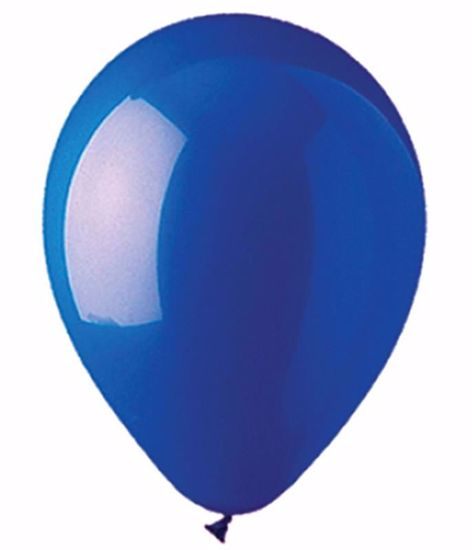 """Picture of 12"""" Latex Balloons: Navy Crystal"""